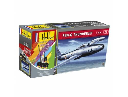 Heller Model Set F-84G Thunderjet 1:72 (56278)