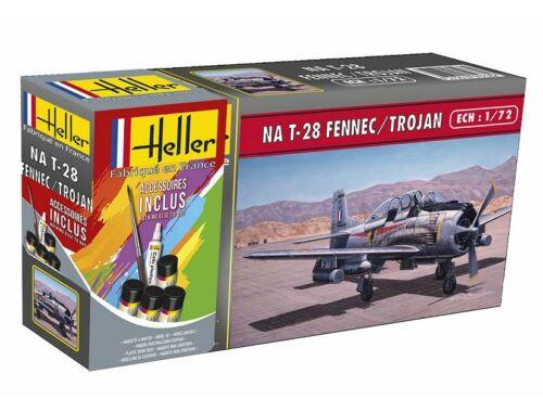 Heller Model Set North American T-28 Fennec/Trojan 1:72 (56279)