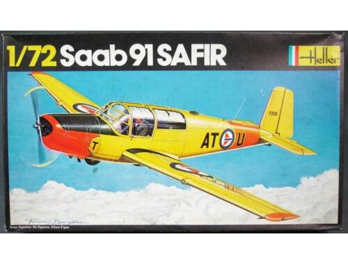 Heller Model Set SAAB Safir 91 1:72 (56287)