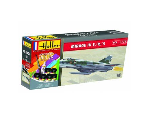 Heller Model Set AMD Mirage IIIE/R/5 BA 1:72 (56323)