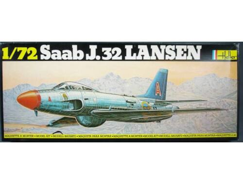 Heller Model Set SAAB 32 Lansen 1:72 (56343)