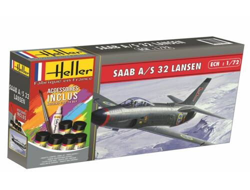 Heller Model Set SAAB 32 Lansen 1:72 (56343)