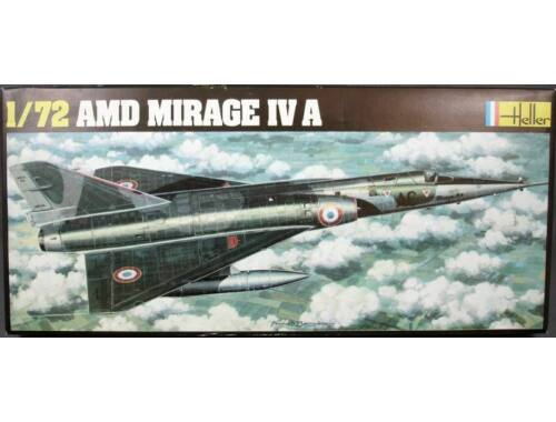 Heller Model Set Mirage IV A 1:72 (56351)
