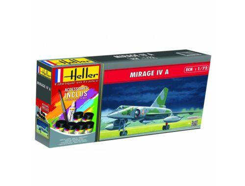 Heller Model Set Mirage IV A 1:72 (56351)