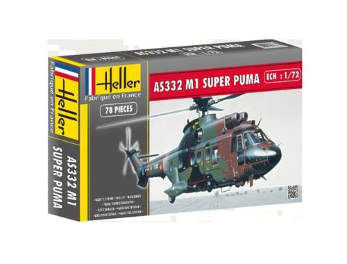 Heller Model Set SUPER PUMA AS332 M1 (78 pieces) 1:72 (56367)