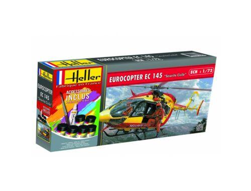 "Heller Model Set Eurocopter EC 145""Securite Civile""(96pie 1:72 (56375)"