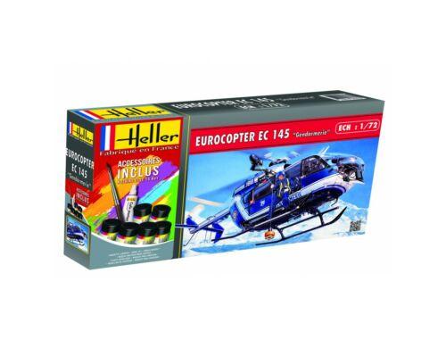 "Heller Model Set Eurocopter EC 145""Gendarmerie""(110piece 1:72 (56378)"