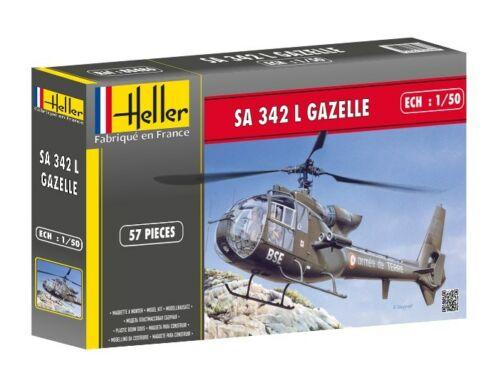 Heller Model Set SA 342 GAZELLE 1:50 (56486)