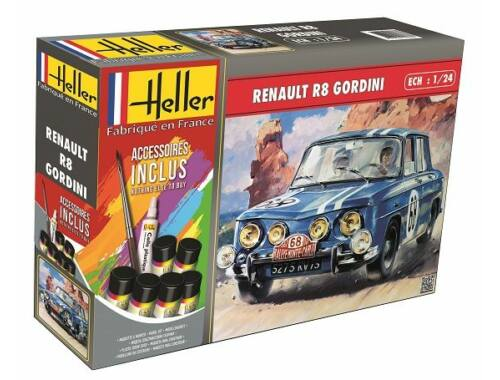 Heller Model Set Renault R8 Gordini 1:24 (56700)