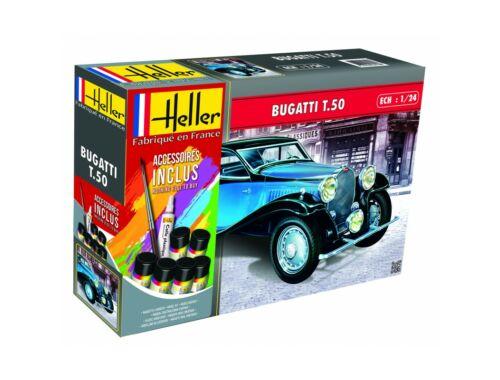 Heller Model Set BUGATTI T.50 (158 pieces) 1:24 (56706)