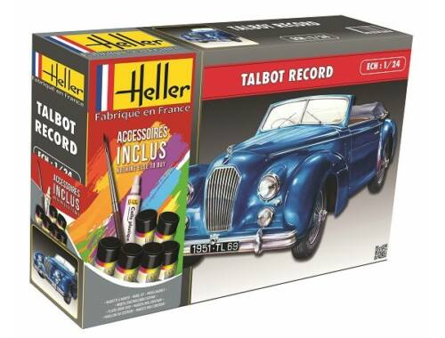 Heller Model Set Talbot Lago Record 1:24 (56711)