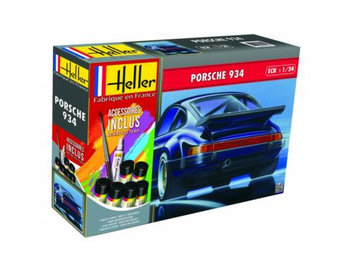 Heller Model Set Porsche 934 1:24 (56714)