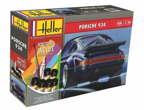 Heller STARTER KIT Porsche 934 1:24 (56714)