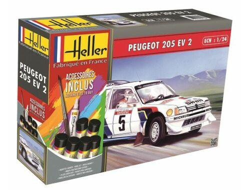 Heller Model Set Peugeot 205 EV2 1:24 (56716)