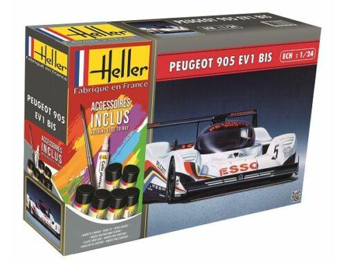 Heller STARTER KIT Peugeot 905 EV 1 1:24 (56718)