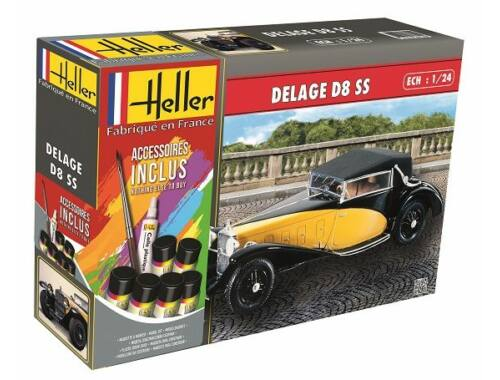 Heller Model Set Delage D8 SS 1:24 (56720)