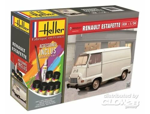 Heller Model Set Renault Estafette 1:24 (56743)