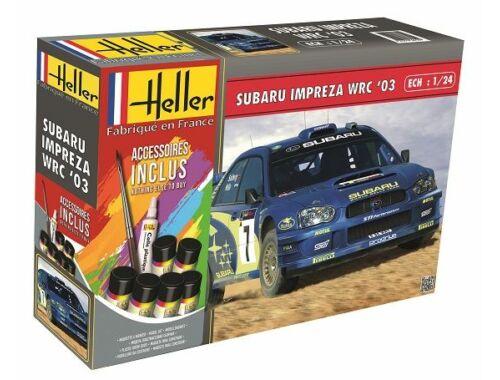 Heller Model Set Subaru Impreza WRC'03 1:24 (56750)