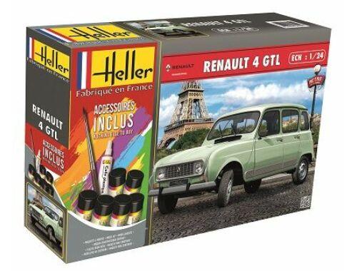 Heller STARTER KIT Renault 4l 1:24 (56759)
