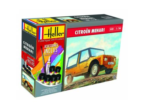 Heller Model Set Citroen Mehari (Version 1) 1:24 (56760)