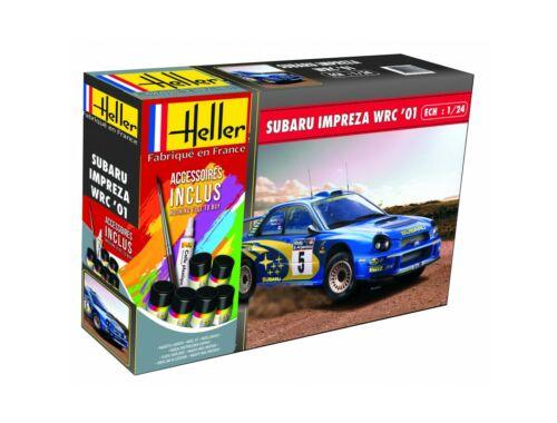 Heller Model Set Subaru Impreza WRC'01 1:24 (56761)
