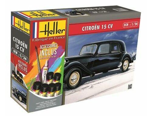 Heller STARTER KIT Citroen 15 CV 1:24 (56763)