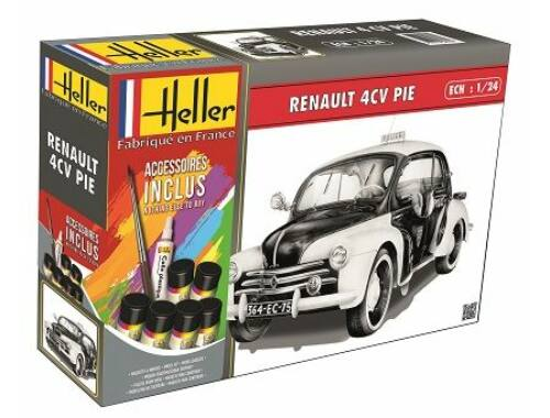Heller Model Set Renault 4 CV PIE 1:24 (56764)