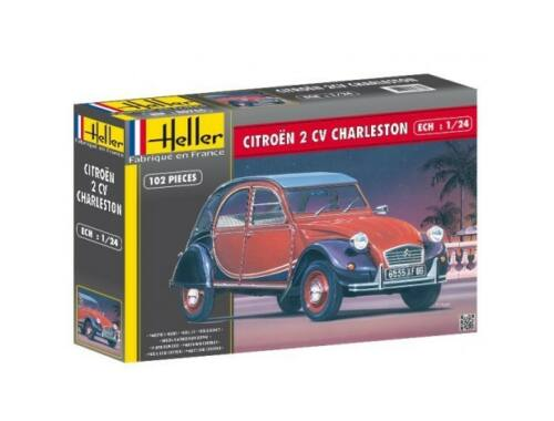 Heller Model Set Citroen 2V Charleston 1:24 (56766)