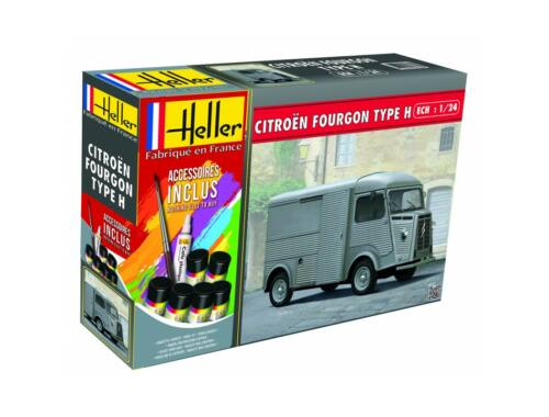 Heller Model Set Citroen Fourgon HY 1:24 (56768)