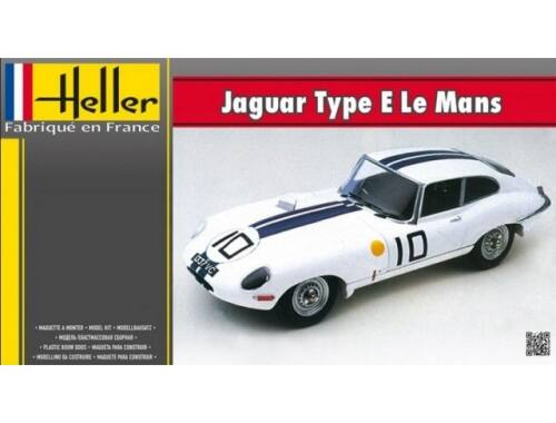 Heller Model Set Jaguar Type LE Mans 1:24 (56783)