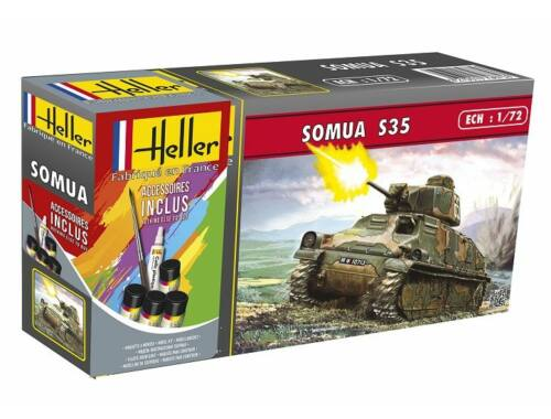 Heller Model Set Somua S 35 1:72 (56875)