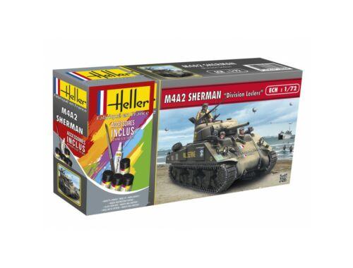 """Heller M4A2 Sherman """"Division Leclerc"""" 1:72 (56894)"""