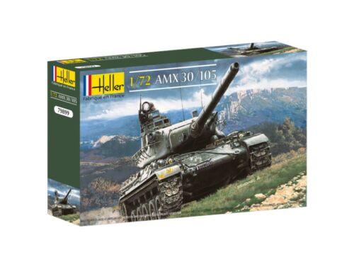 Heller Model Set AMX 30/105 1:72 (56899)