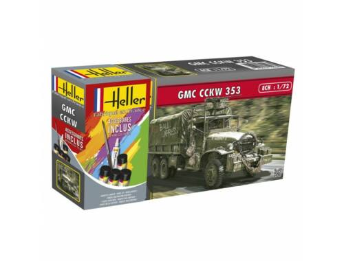 Heller STARTER KIT GMC CCKW 352 1:72 (56996)