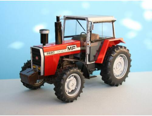 Heller Model Set Massey-Ferguson 2680 1:24 (57402)