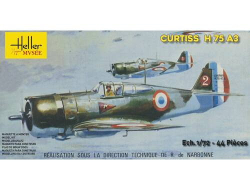 Heller CURTISS H-75 A3 1:72 (80214)