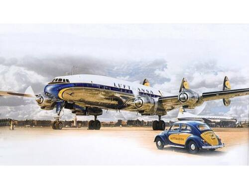 Heller Lockheed L-1049 G Super Constellation 1:72 (80391)