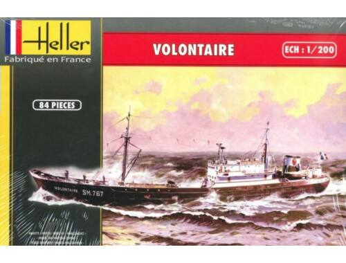 Heller VOLONTAIRE - MARIE JEANNE Twinset 1:200 (80604)