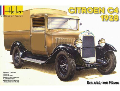 Heller Citroen C4 Fourgonnette 1928 1:24 (80703)