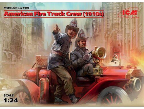 ICM American Fire Truck Crew(1910s)2 Figures 1:24 (24006)