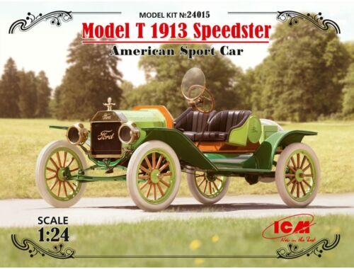 ICM Model T 1913 Speedster,American SportCar 1:24 (24015)