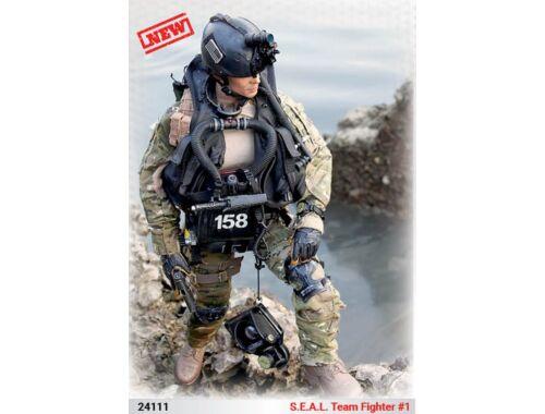 ICM S.E.A.L. Team Fighter No.1 1:24 (24111)