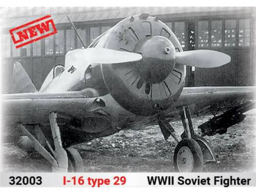ICM I-16 type 29, WWII Soviet Fighter 1:32 (32003)