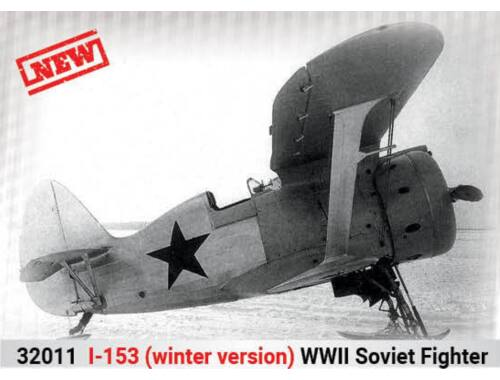 ICM I-153(winter version),WWII Soviet Fighte 1:32 (32011)