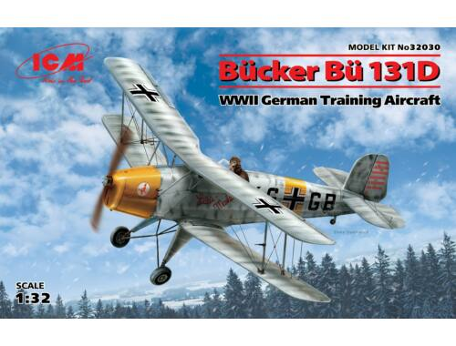 ICM Bücker Bü 131D,WWII (100% new molds) 1:32 (32030)