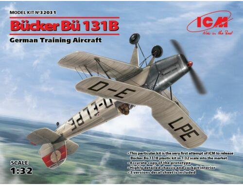 ICM Bücker Bü 131B,German Training Aircraft 1:32 (32031)