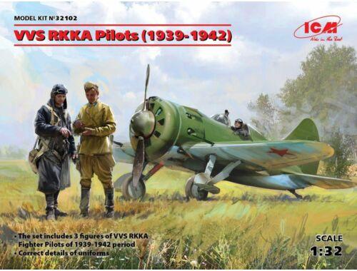 ICM VVS RKKA Pilots(1939-1942p)(3 Figures) 1:32 (32102)