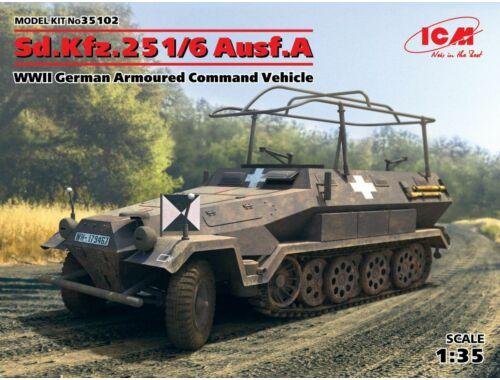 ICM Sd.Kfz.251/6 Ausf.A,WWII German ACV 1:35 (35102)