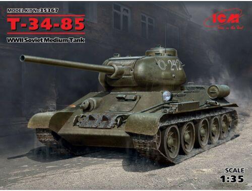 ICM T-34-85, WWII Soviet Medium Tank 1:35 (35367)
