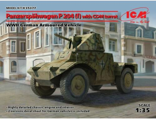 ICM Panzerspähwagen P 204(f)with CDM turret, WWII GAV 1:35 (35377)